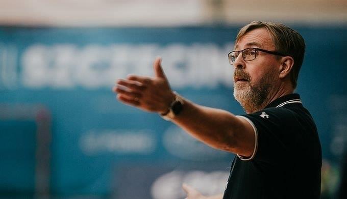 Na fot. Patrik Liljestrand, były trener Energi MKS Kalisz